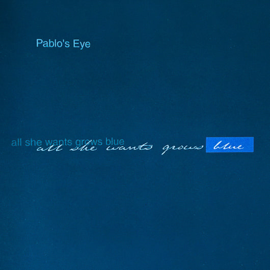 cover cd Pablo's Eye - all she wants grows blue