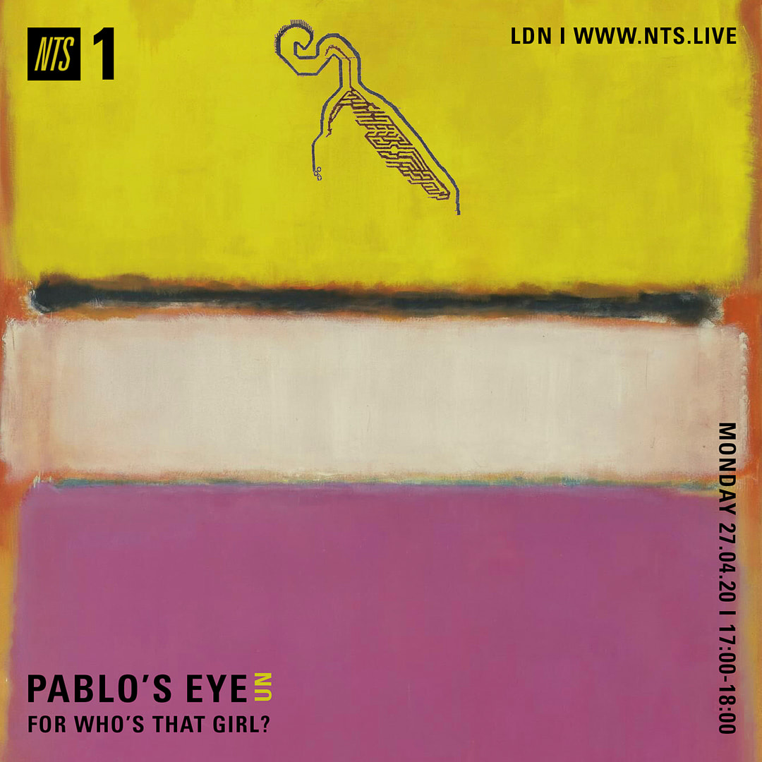 Playlist - Pablo's Eye for Who's That Girl show