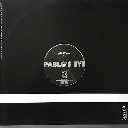 AMB7 sleeve cover Pablo's Eye